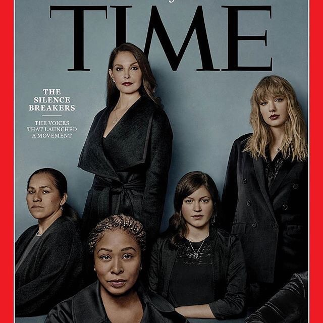 "@time's ""Person of the Year"": the Silence Breakers I find this choice really validating. Every time a powerful organization, particularly one with a lot of visibility, publicly makes it known that they believe women, it reinforces the notion that assault and harassment aren't normal and that there is power in women speaking out.  #personoftheyear #silencebreakers #believewomen #speaktruthtopower"