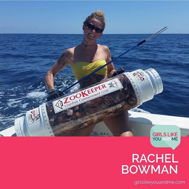 When you picture someone who catches fish 🎣 for a living, do you picture someone like Rachel Bowman? You should. She hunts and sells the invasive lionfish in the Florida Keys and all over the Caribbean, simultaneously protecting reef ecosystems and putting healthy, sustainable fish into the food chain. Check out our interview with Rachel the @lionfishhuntress at the link in bio! #GLYandM #lionfish #lionfishhuntress #conservation #sustainability #sustainablefishing #reefecology #invasivespecies #remarkablewomen #florida #floridakeys #floridafishing #zookeeper
