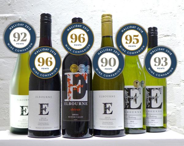 2018 Halliday Award winning vintages