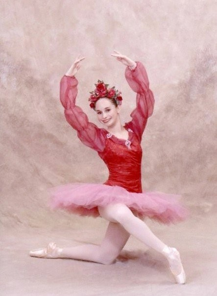 """Beauty Rose (Dewdrop) in """"The Magic of The Nutcracker"""" at Dancenter North, 2006. PC: Studio West Photography"""