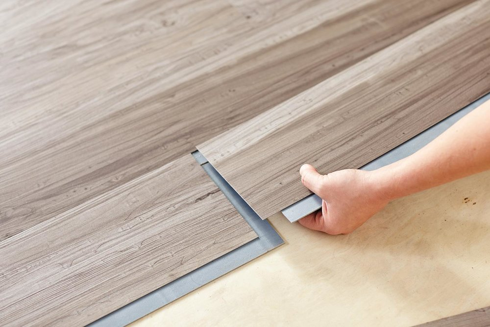 How To Lay Down Vinyl Flooring In Your, How To Put Vinyl Flooring On Steps
