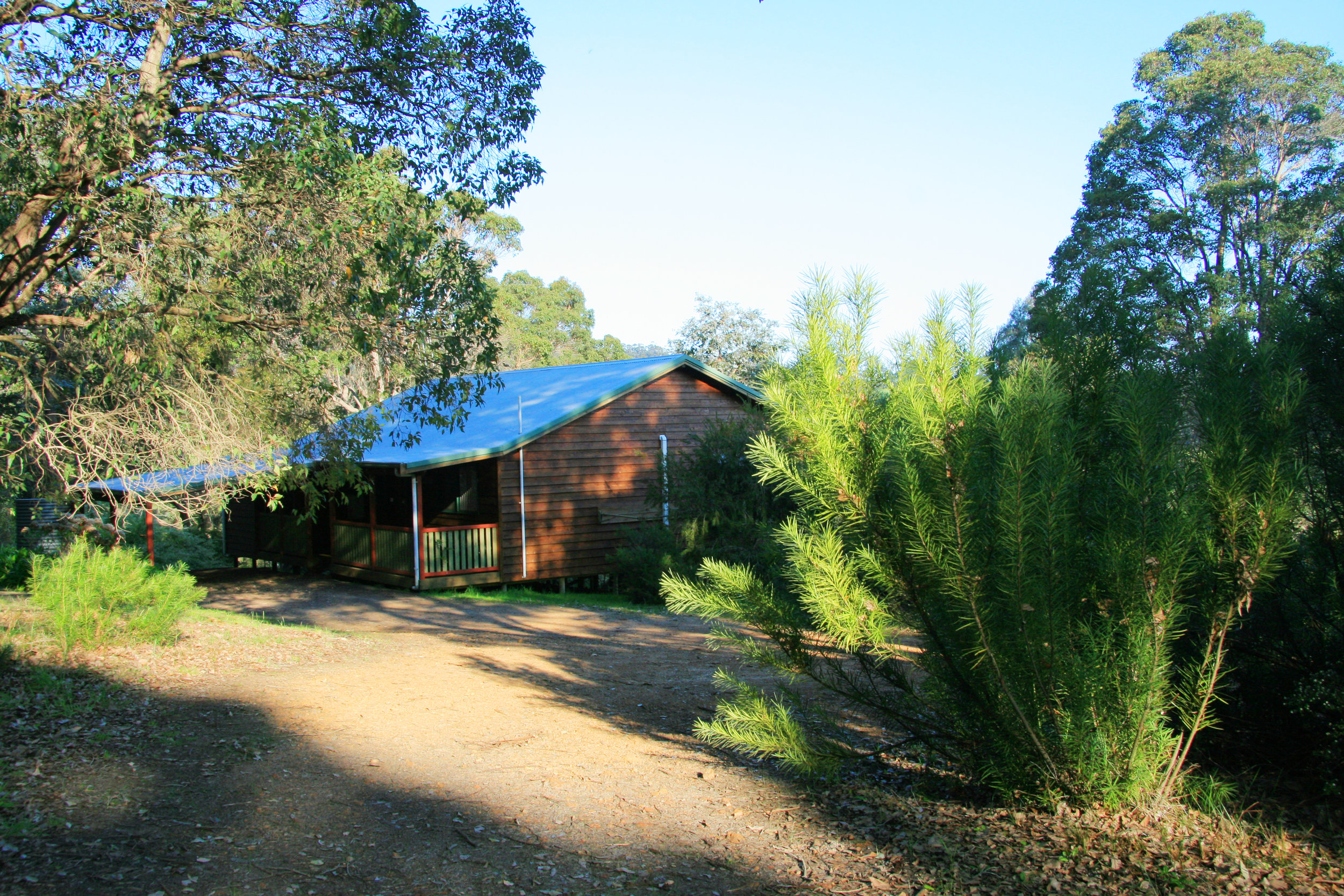 Misty Valley Country Cottages, set on 110 acres in Denmark WA