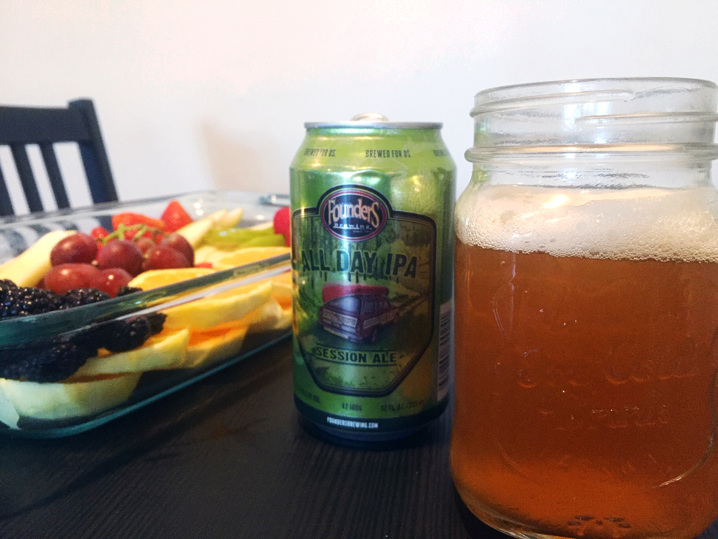 Founder's IPA and Fruit