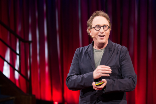 Jon Ronson, under  TEDGlobal  London i 2015. Foto:  TED Conference , CC-BY-NC 2.0.