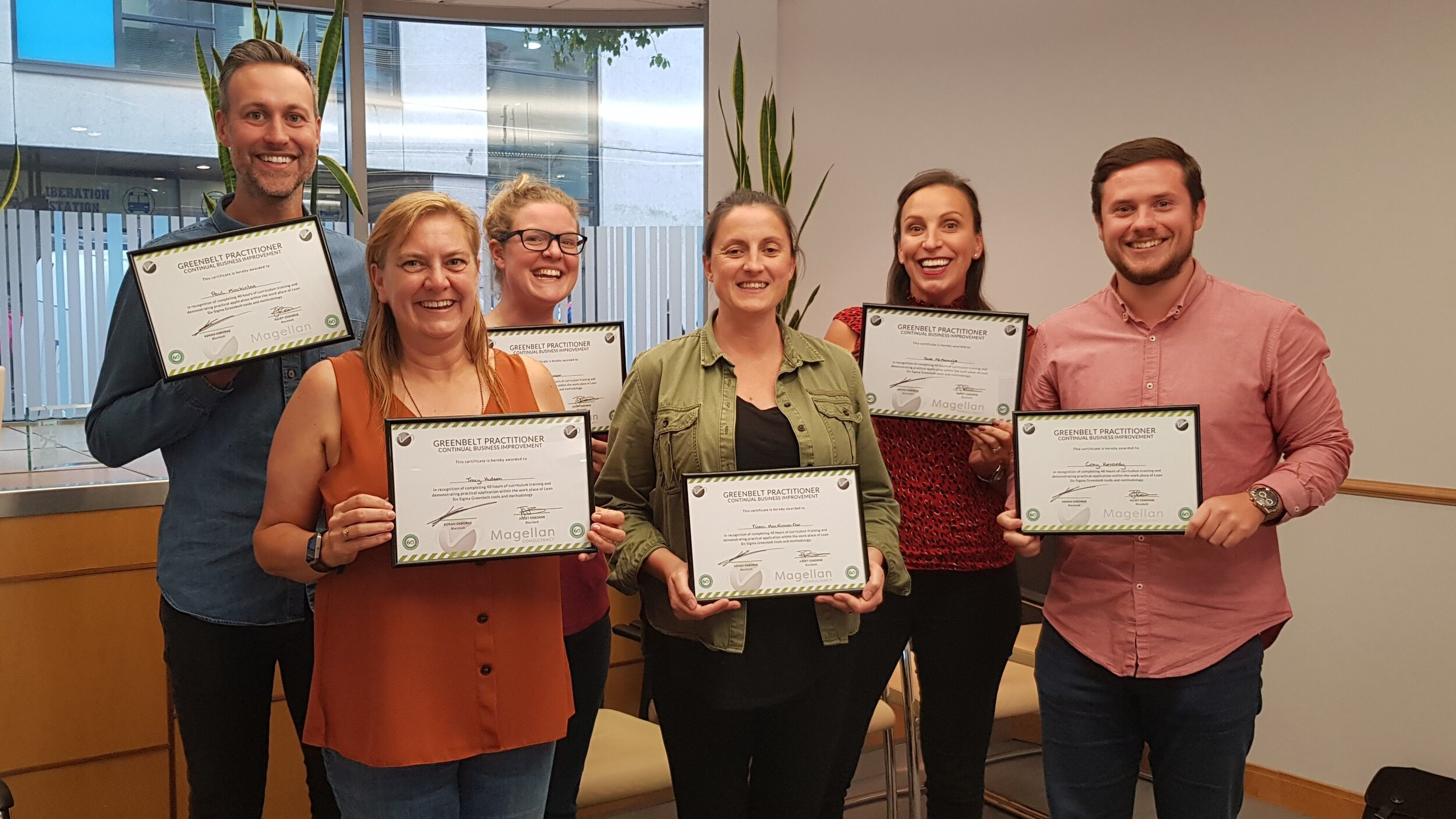 Our latest cohort of Greenbelts passed with flying colours. Congratulations to you all, you have made some amazing progress with your inititives. OCTOBER 2019