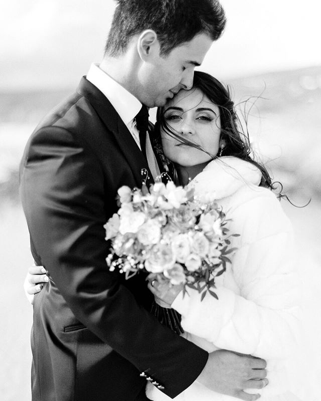 Gorgeous Maria João and Tiago at their wedding day. I absolutely love the movement the wind provided to the photo.  Scan by @carmencitalab  Photography @alicevicenteweddings  Wedding planner @destinationweddingsinportugal  Floral design @destinationweddingsinportugal  Venue @senhoradaguiacascais  Hair @raquelcfraposo  Makeup @milenecardosomua  Wedding dress @vestidus  Bride's shoes @lkbennettlondon  Earrings @diamonfireuk  Lingerie & robe @intimissimiofficial