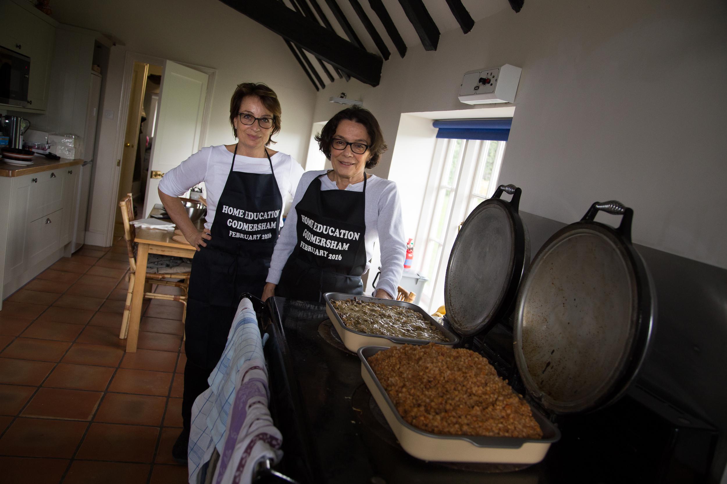 The Chefs: Paola De Sanna & Maria Rosario Lazzati
