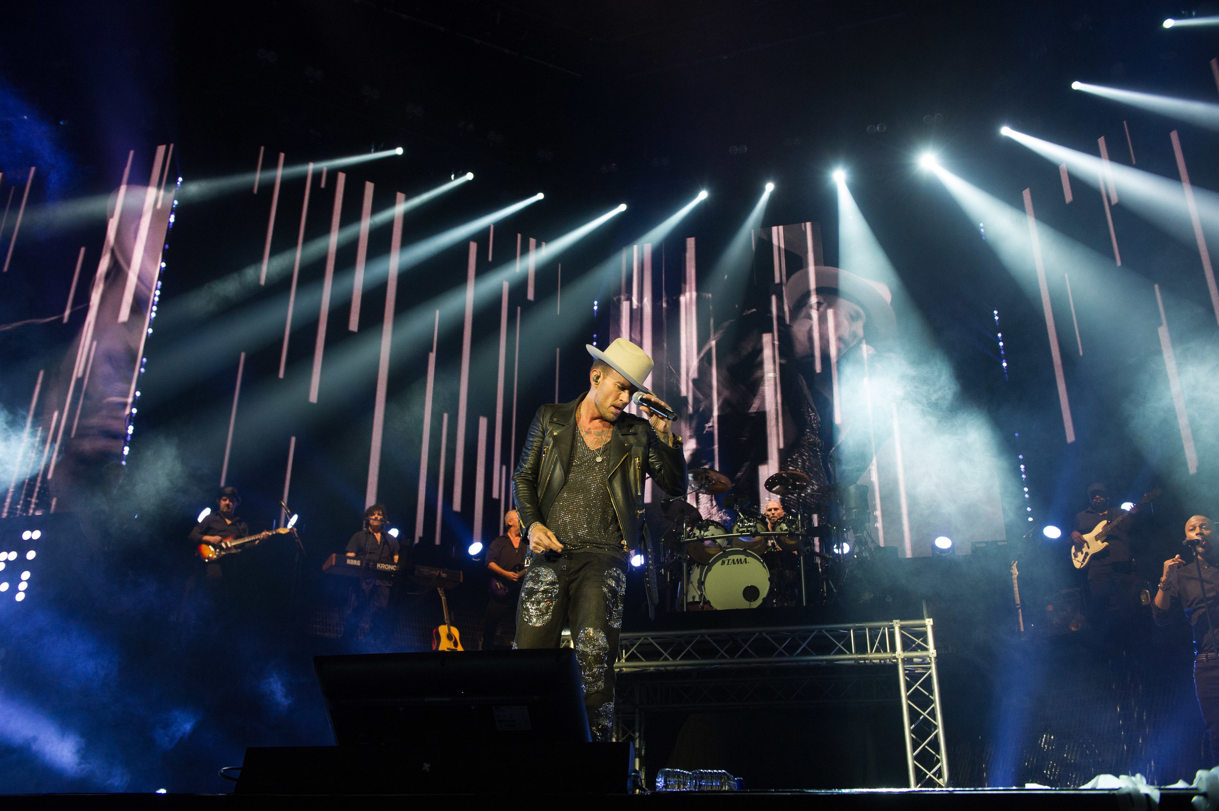 Brothers Matt Goss and Luke Goss reunite as Bros for two nights at the O2 Arena in London