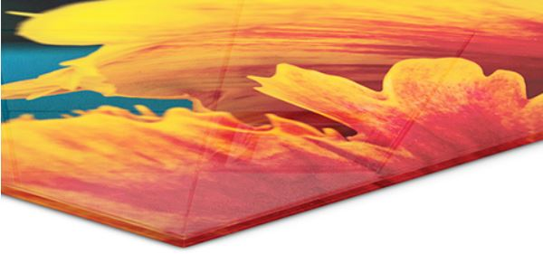 Glass sheet - If you want the ultimate sharpness and color depth then choose Glass print. Printed on Hahnemühle fine art paper, mounted directly on 4 mm colorless diamond glass. The colors are enhanced through the depth and the clear surface of the glass, and the edges are polished to give a nice finish. It doesn't need framing and is easy to mount on your wall.