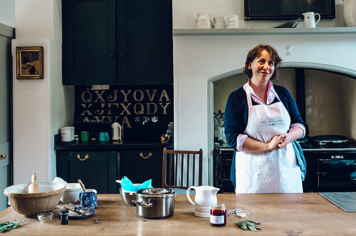 Lisa Ossman of All Hallows' Cookery School with Rooms. Photo credit: Hung Quach