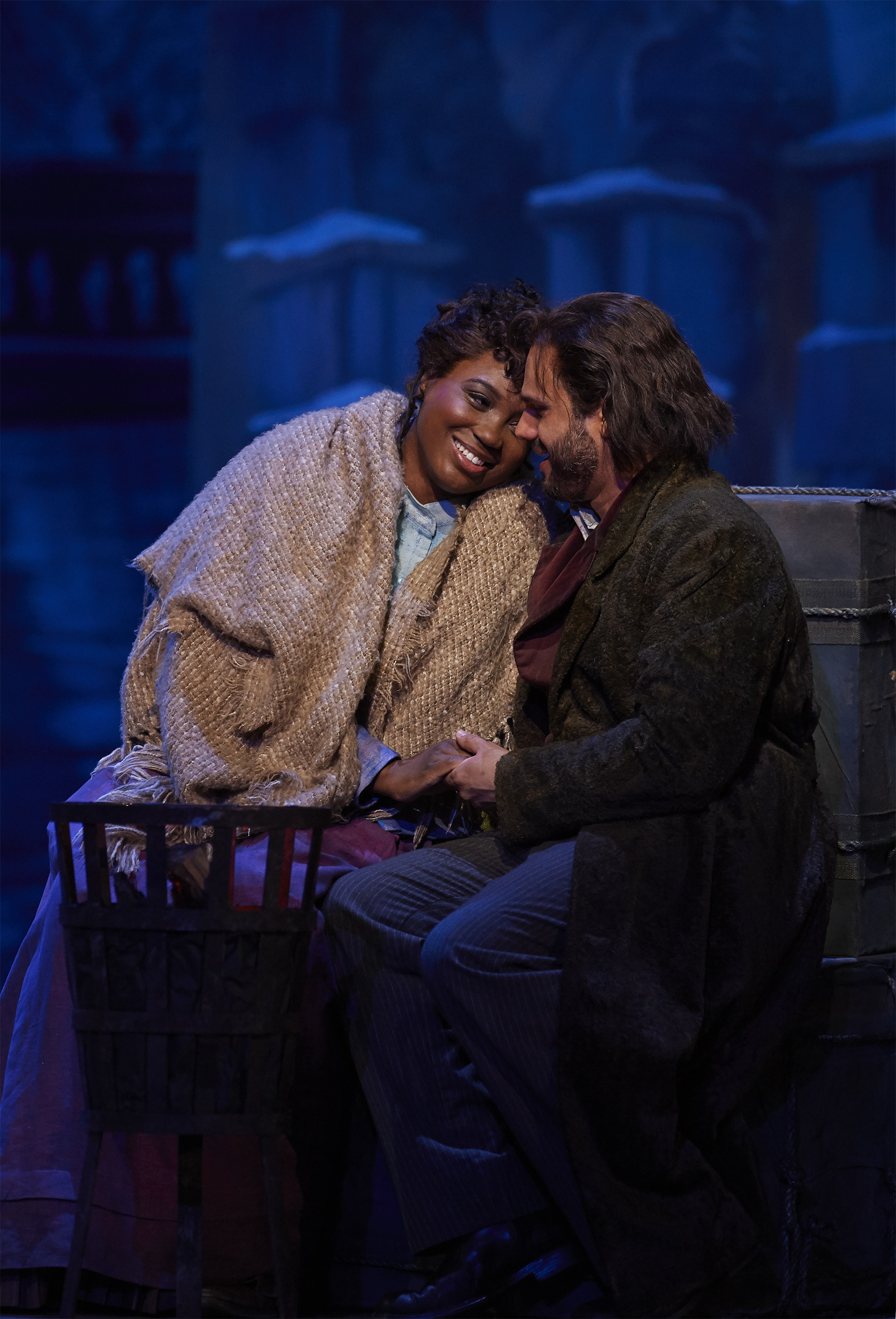 Angel Blue & Atalla Ayan in LA BOHEME at Canadian Opera Company, 2019   Original Production by John Caird, Revival Director, Katherine M. Carter