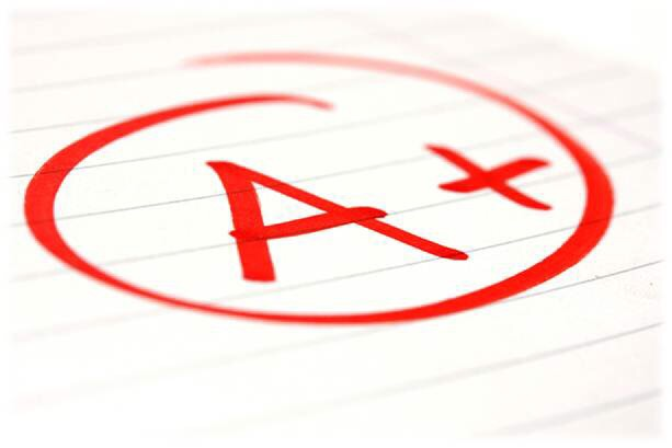 If I had to grade our grading practices in higher-ed generally, we would not get an A+...