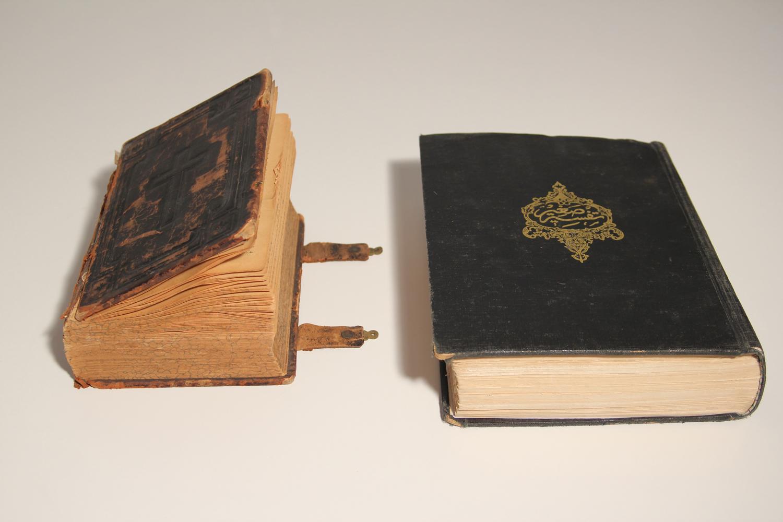Bibel and Koran, VIENNAFAIR New Contemporary, Vienna, 2013