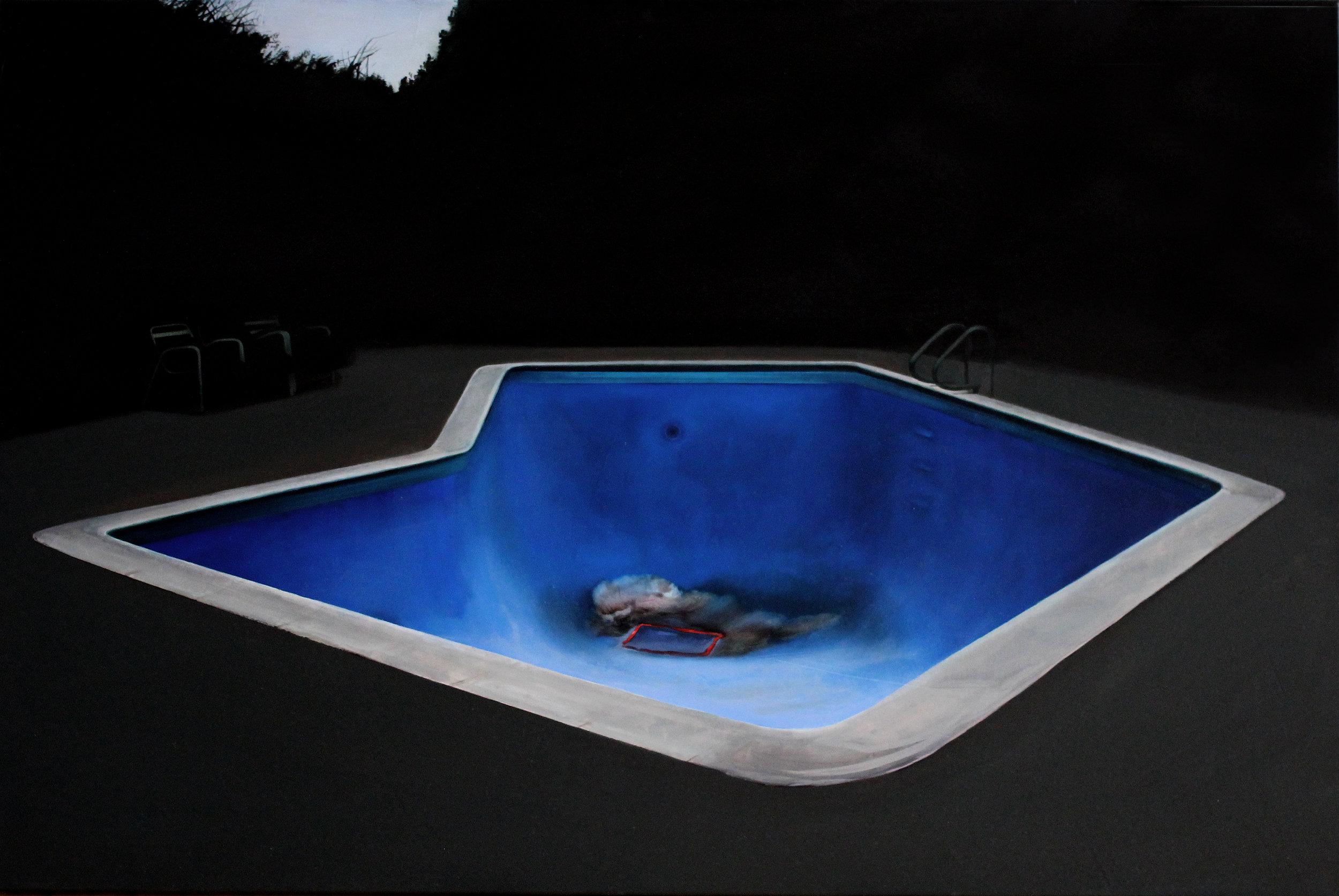 empty swimming pool III
