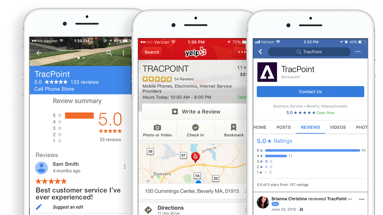 Reviews Generator — TracPoint