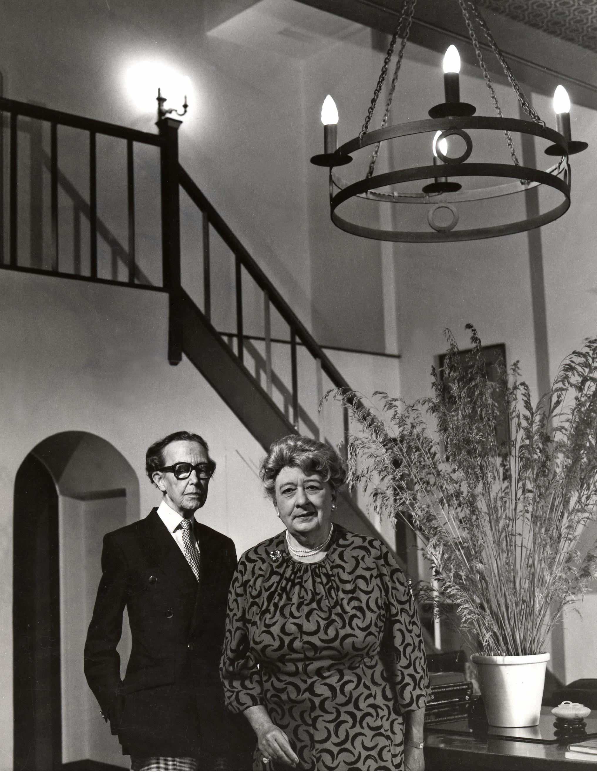 Hartley Ramsden and Margot Eates