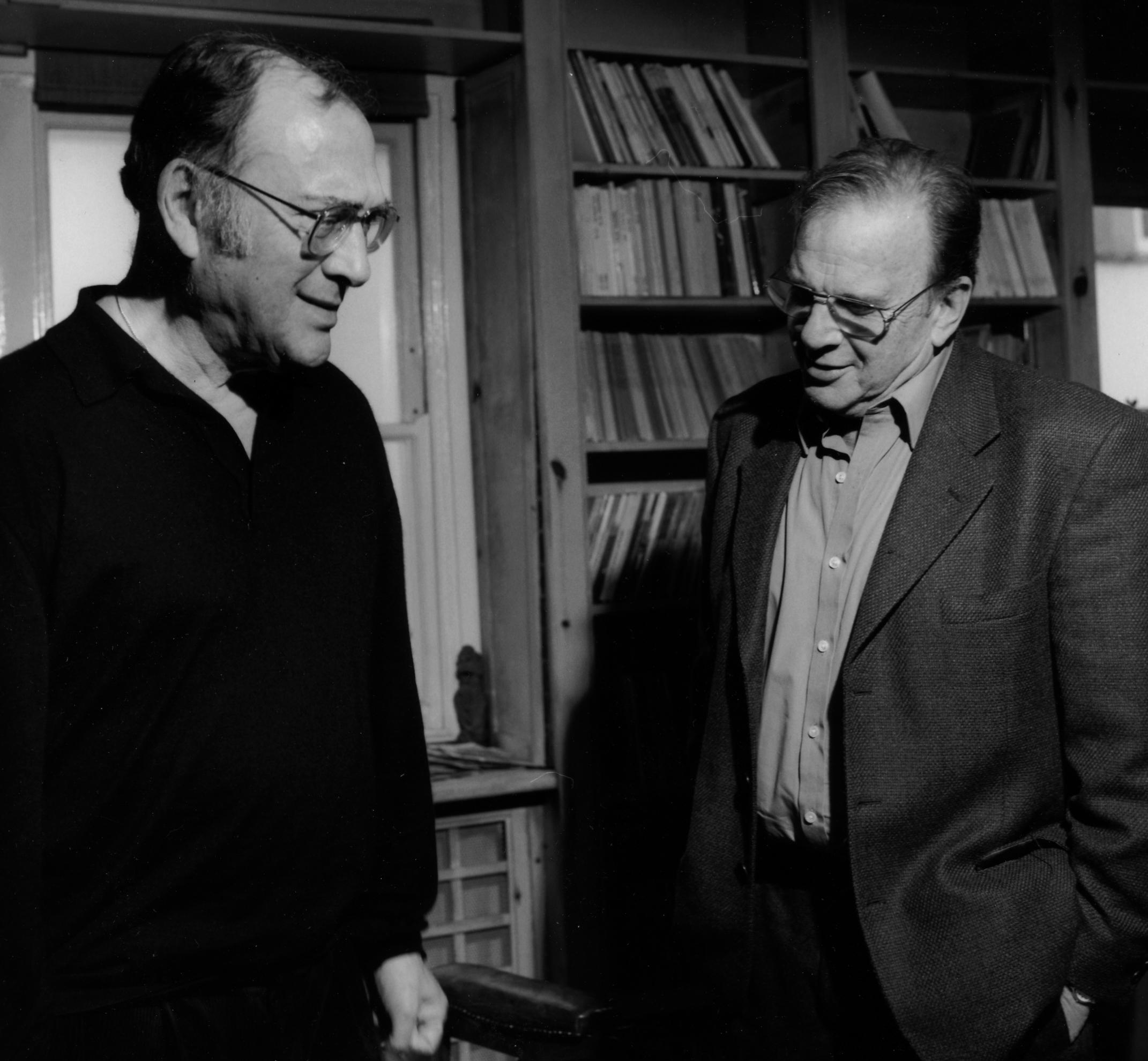 Harold Pinter and Sir Ronald Harwood for RSL