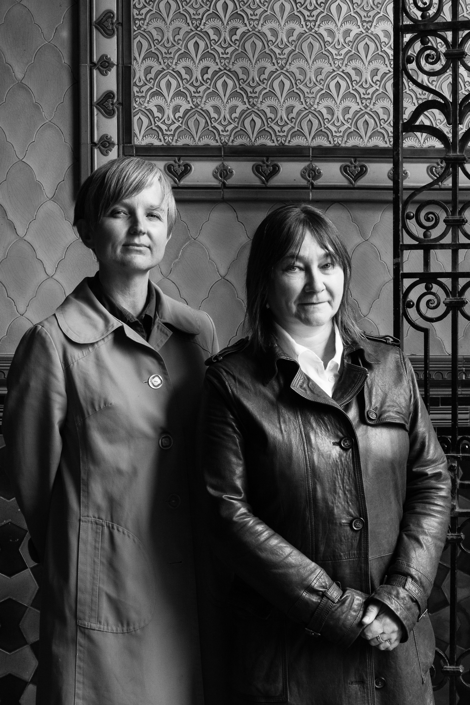 Marion Coutts and Ali Smith for RSL