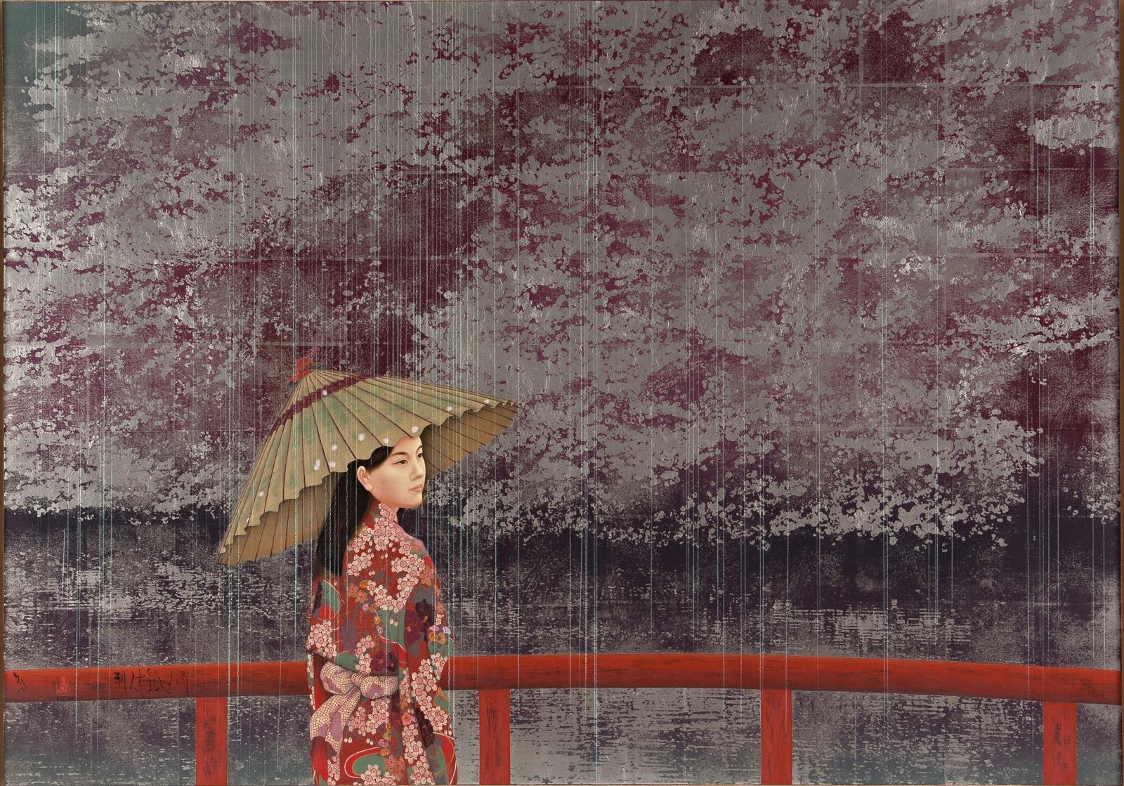 Kyosuke Tchinai for Elena Shchukina Gallery