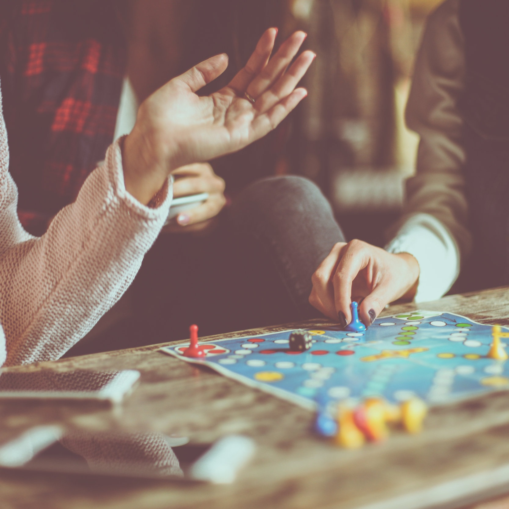 Board Games - Hello everyone! I enjoy connecting with others and bringing people together for fellowship and community. I have many interests including music, hiking, camping, and board games.I have many games, but feel free to bring your own. There will be friendly, but sometimes intense, competition and cooperative play alike.