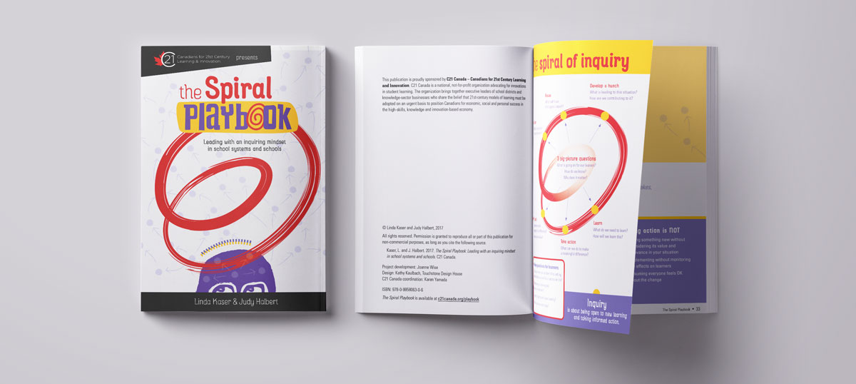 The Spiral Playbook:  - describes a sustainable approach to professional inquiry that aims to transform how educators learn and lead.