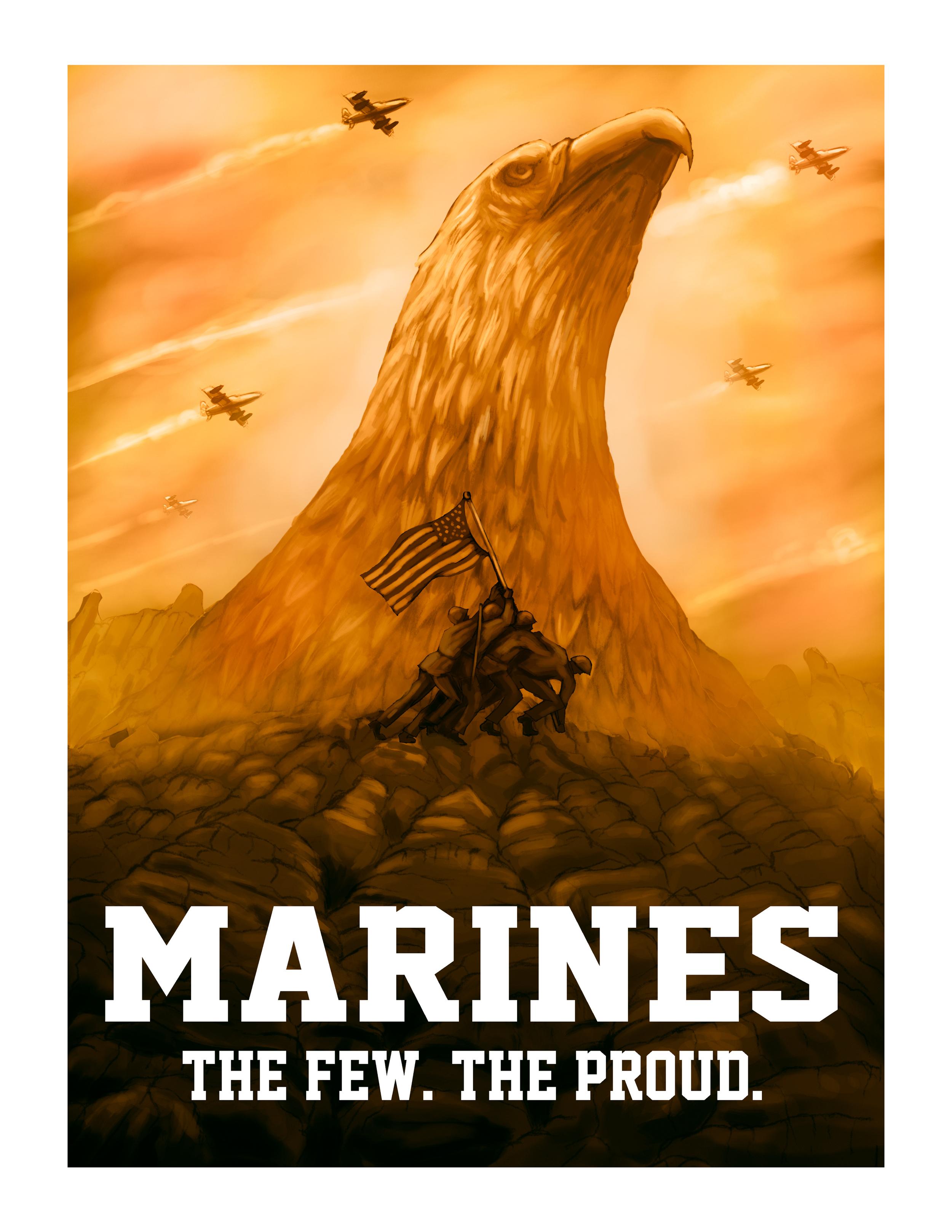 """Marine Corps Advertisement."""