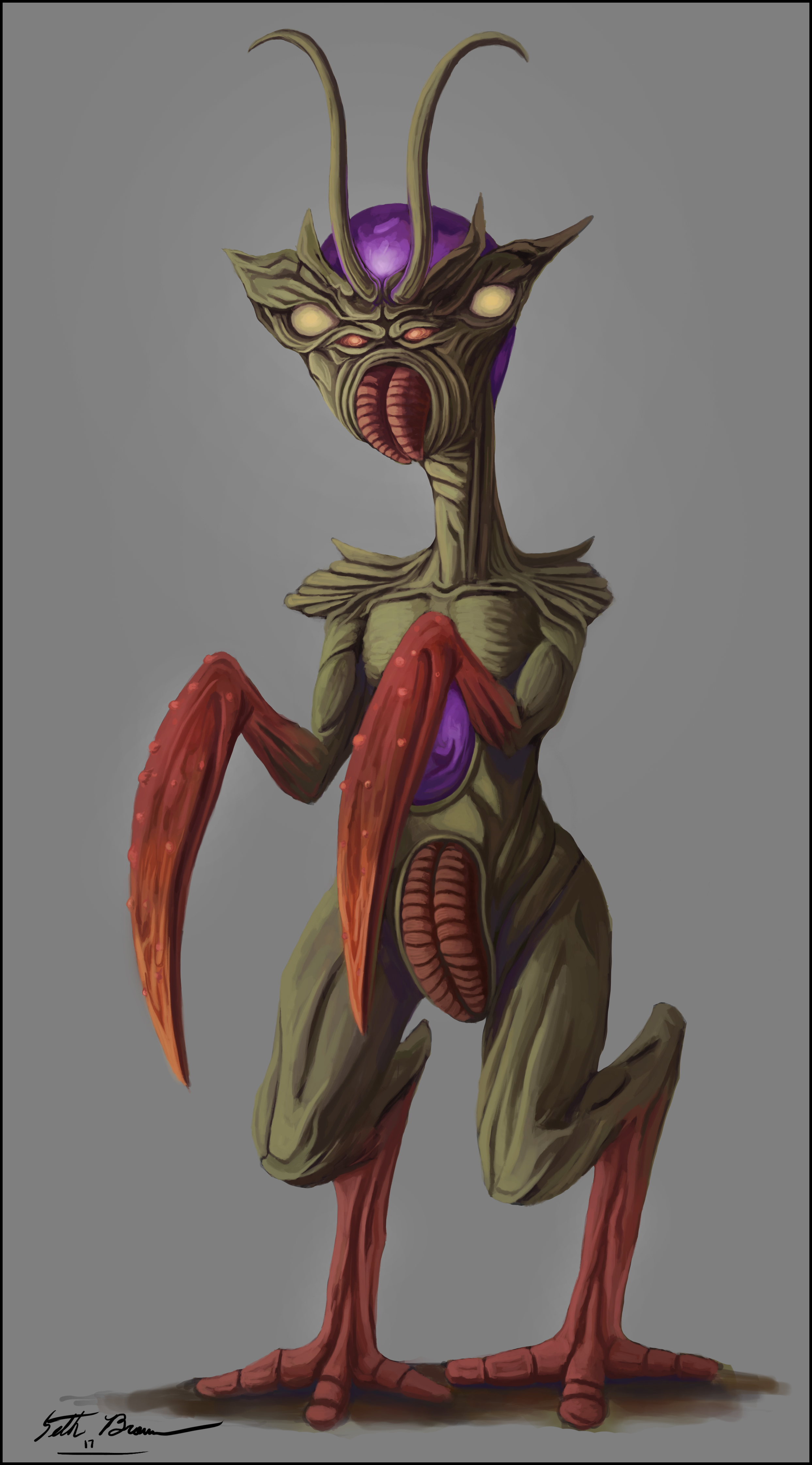 """""""Mantis Creature"""""""