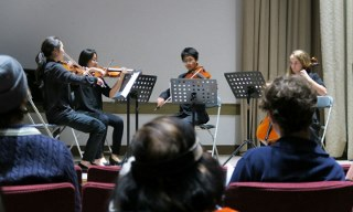 Korean Festival - Saturday, November 4, 2017Featuring:the Cygnus Quartet - Cuna, Sein, Thomas, and Mirra - members of PYSO and TRYPO.