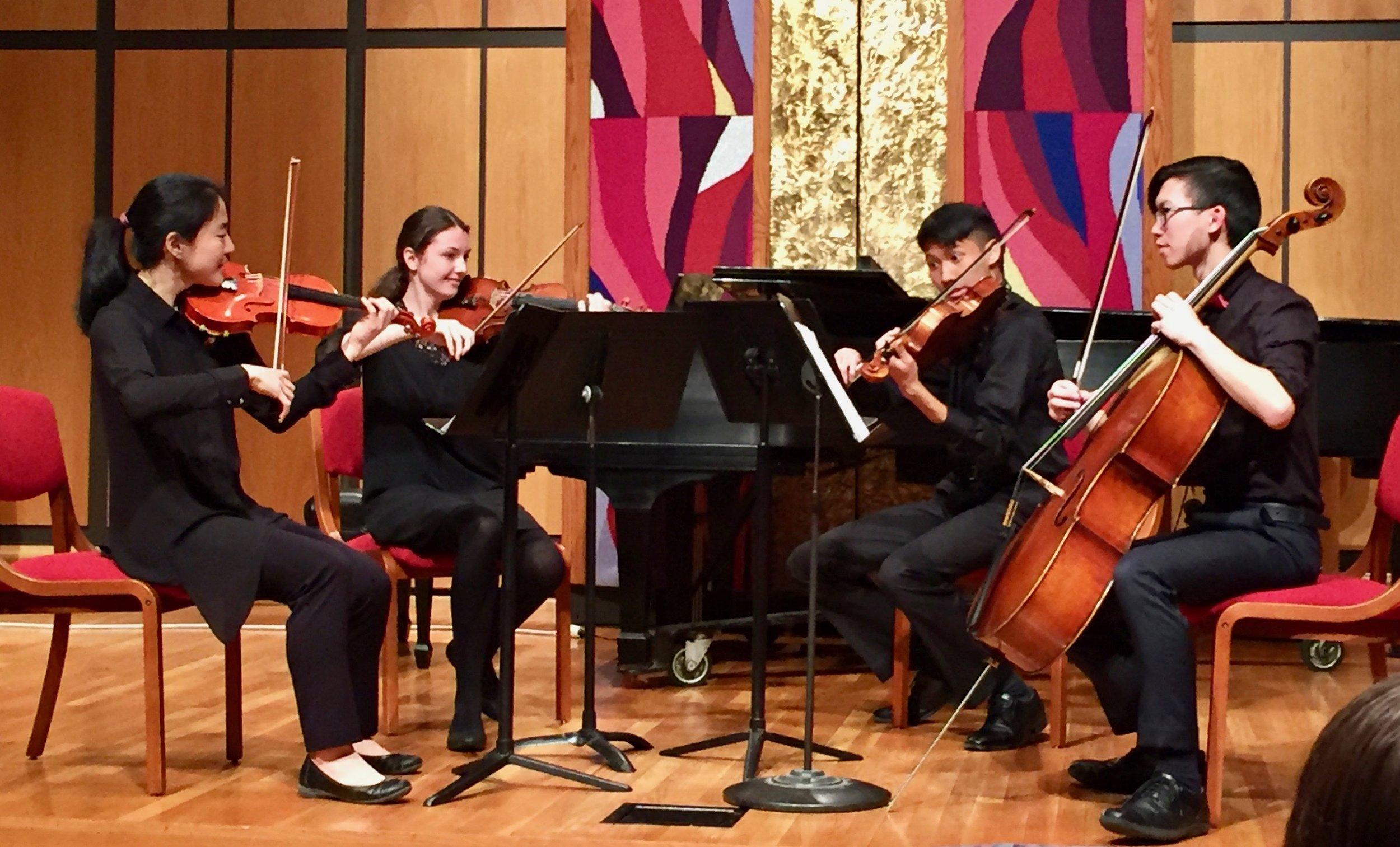 LEO QUARTET - Daphne, Carolyn, Futen, and Will