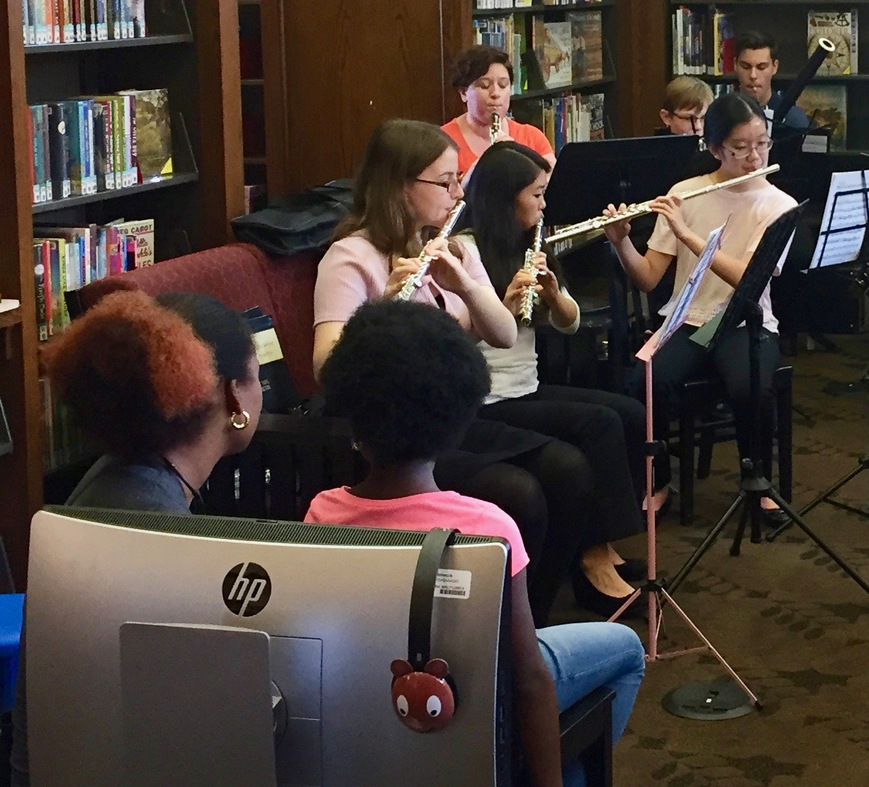 Pop-Up Concerts in Carnegie Libraries - Lawrenceville Library: Sat., Sept. 22 - 12:15pmHomewood Library: Sat., Sept. 22 - 12:15pmEast Liberty Library: Sat., Sept. 22 - 2:45pmWest End Library: Sat., Sept. 22 - 2:45pm