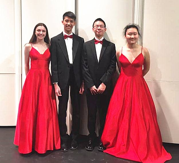 Pittsburgh Concert Society - April 2, 2019PYSO's Vivo Quartet, winners of the 2018-19 Montgomery Fellowship, performed at Kresge Theater on the campus of Carnegie Mellon University for the Pittsburgh Concert Society as winners of the 2019 Young Artist Award!