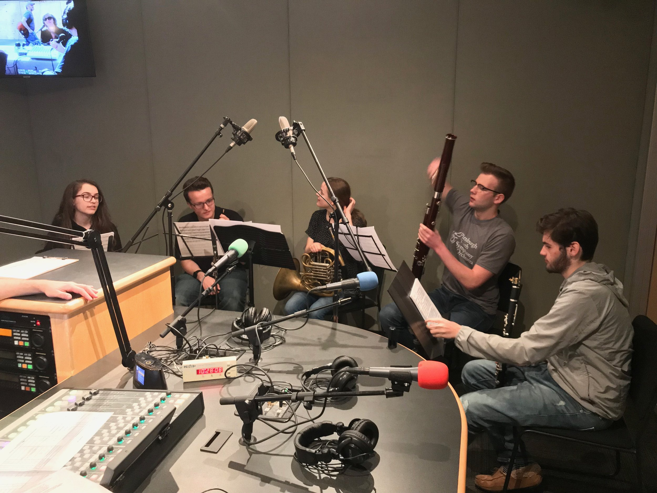 Children's Museum - SLB Radio - Saturday, April 20, 2019PYSO's Wild Ginger Quintet - Dinah, Geoffrey, Susan, Brody, and Nathan - performed live on the Saturday Light Brigade radio show.