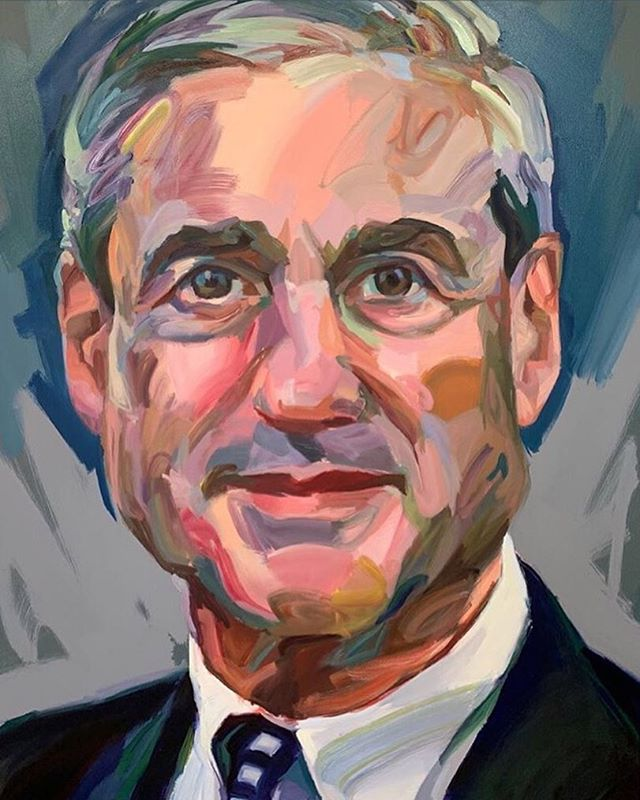 #muellerreport #impeachtrump #obstructionofjustice #notexonerated #artistJoHay  @johayartist