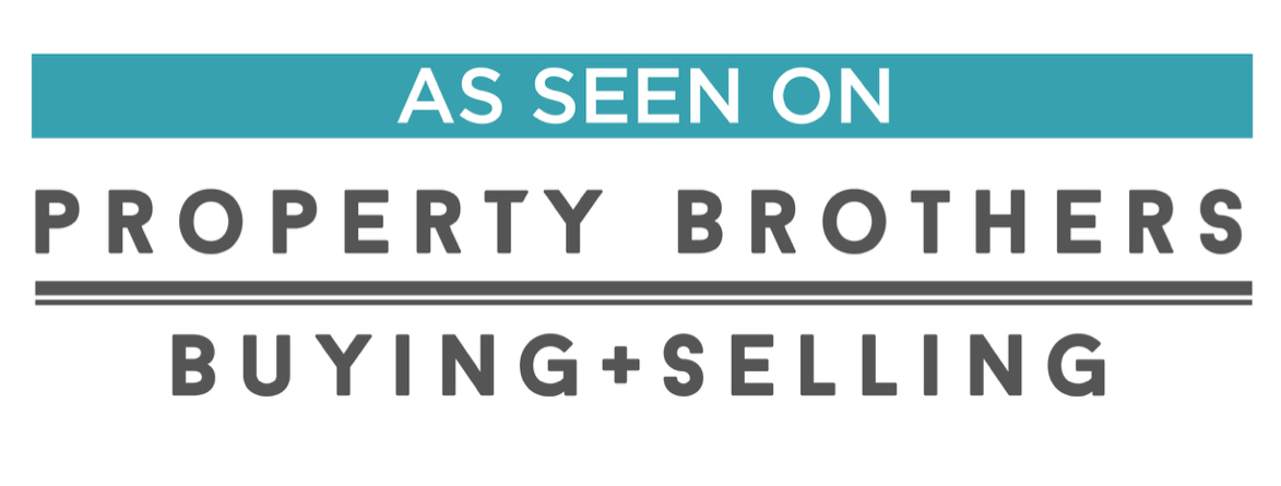 """As seen on Property Brothers Buying+Selling"" banner image"
