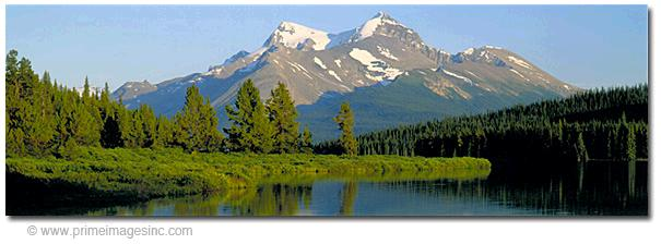 """This mountain image that has a 3:1 aspect ratio ... meaning it is three times wider than it is tall. This is a """"panoramic shaped"""" image."""