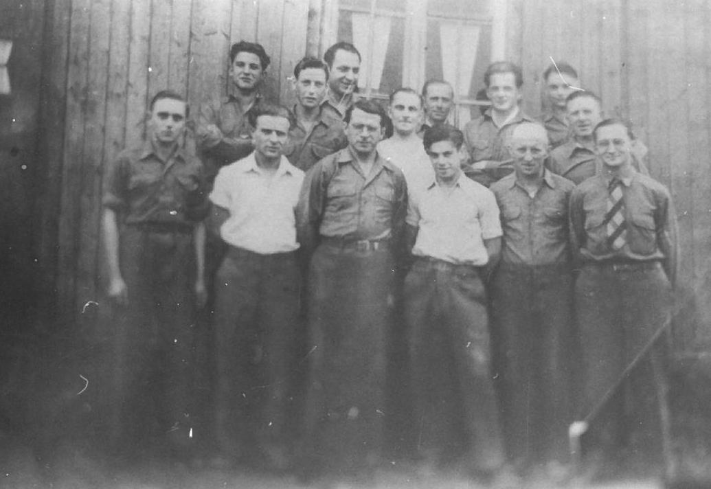 Die Mannschaft der Firma Ziegler & Dietrich 1946