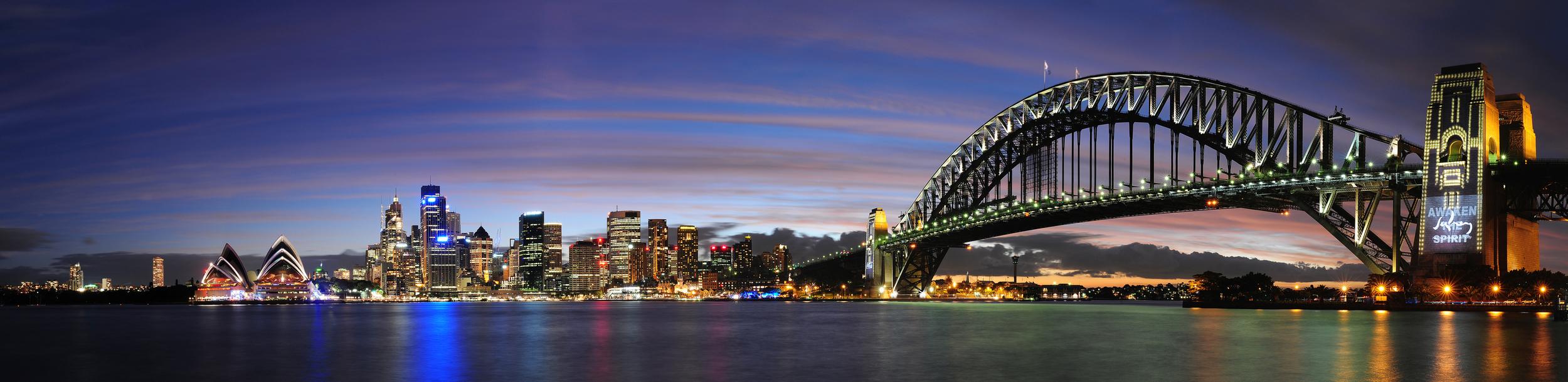 SYDNEY SKYLINE - AUSTRALIEN