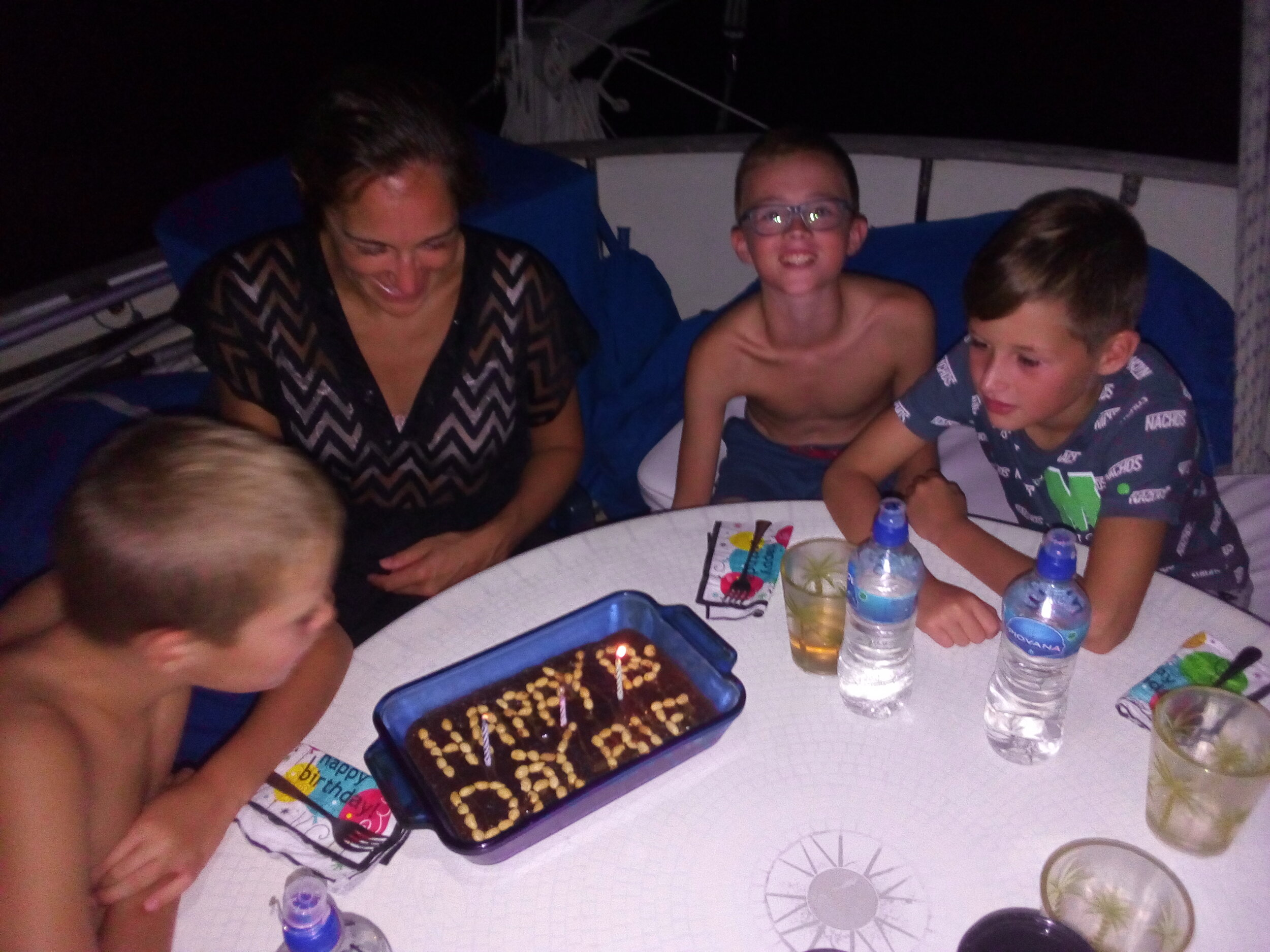 Mom & Kids B-day with cake.jpg