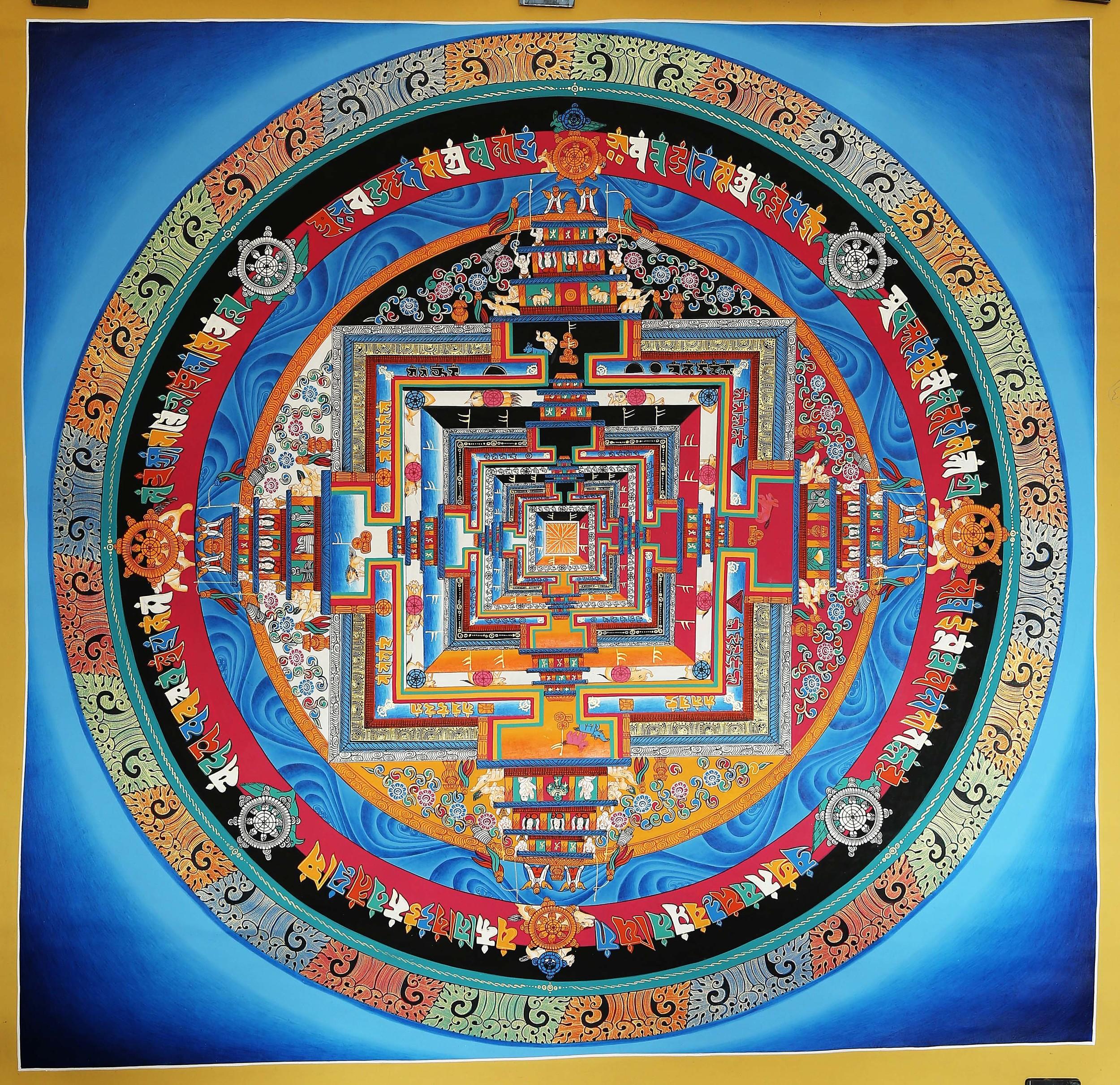 Kalachakra Mandala <br>时轮坛城