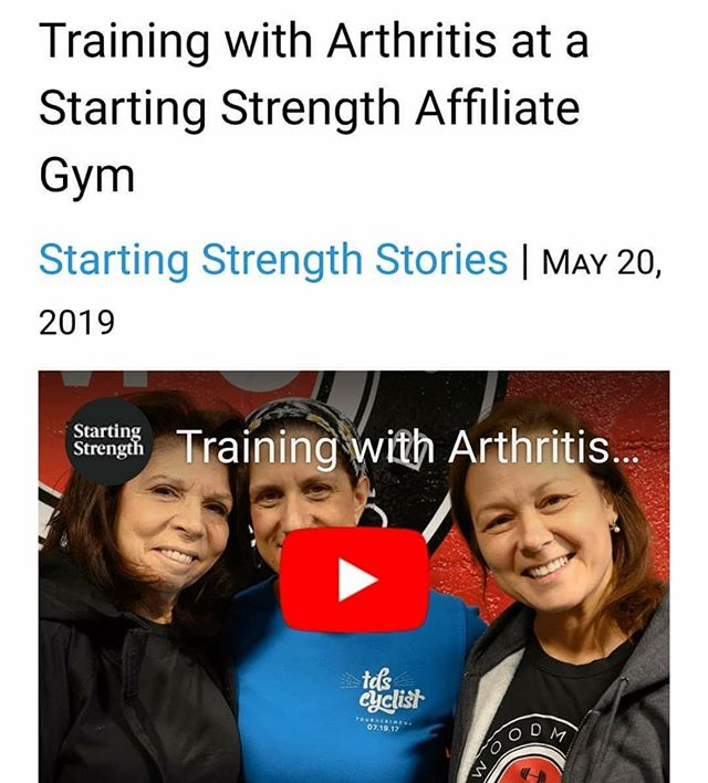 Louise Kramer and her daughter, Rebecca Cohen, discuss training at Woodmere Fitness Club with Starting Strength Coach Inna Koppel while managing severe rheumatoid arthritis. ⏫Link to video in Bio @woodmerefitnessclub #startingstrength #barbellclubwfc #ra #rheumatoidarthritis