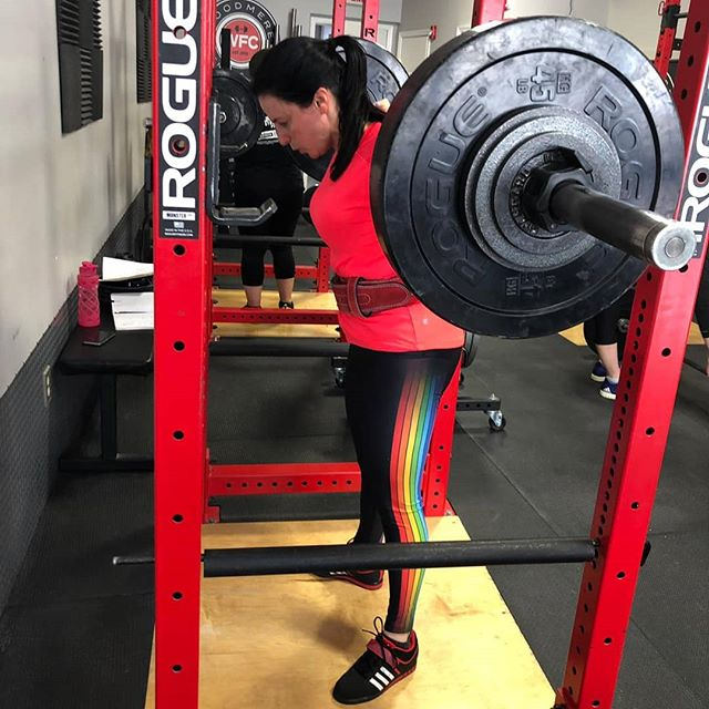 @gilarapp is training  for our next @usstrengthlifting meet coming this Fall💪  Making the commitment to compete helps drive your training and keeps you motivated. 💥Set goals and crush them! Sign up NOW in the link of our Bio☝️ Only 5 spots remain for our 2019 USSF Fall Classic on September 22nd.  https://usstrengthlifting.com/event/2019-ussf-new-york-fall-classic/  #barbellclubwfc #startingstrength #ussf #idontsquatonshabbos #compete #goalsetting