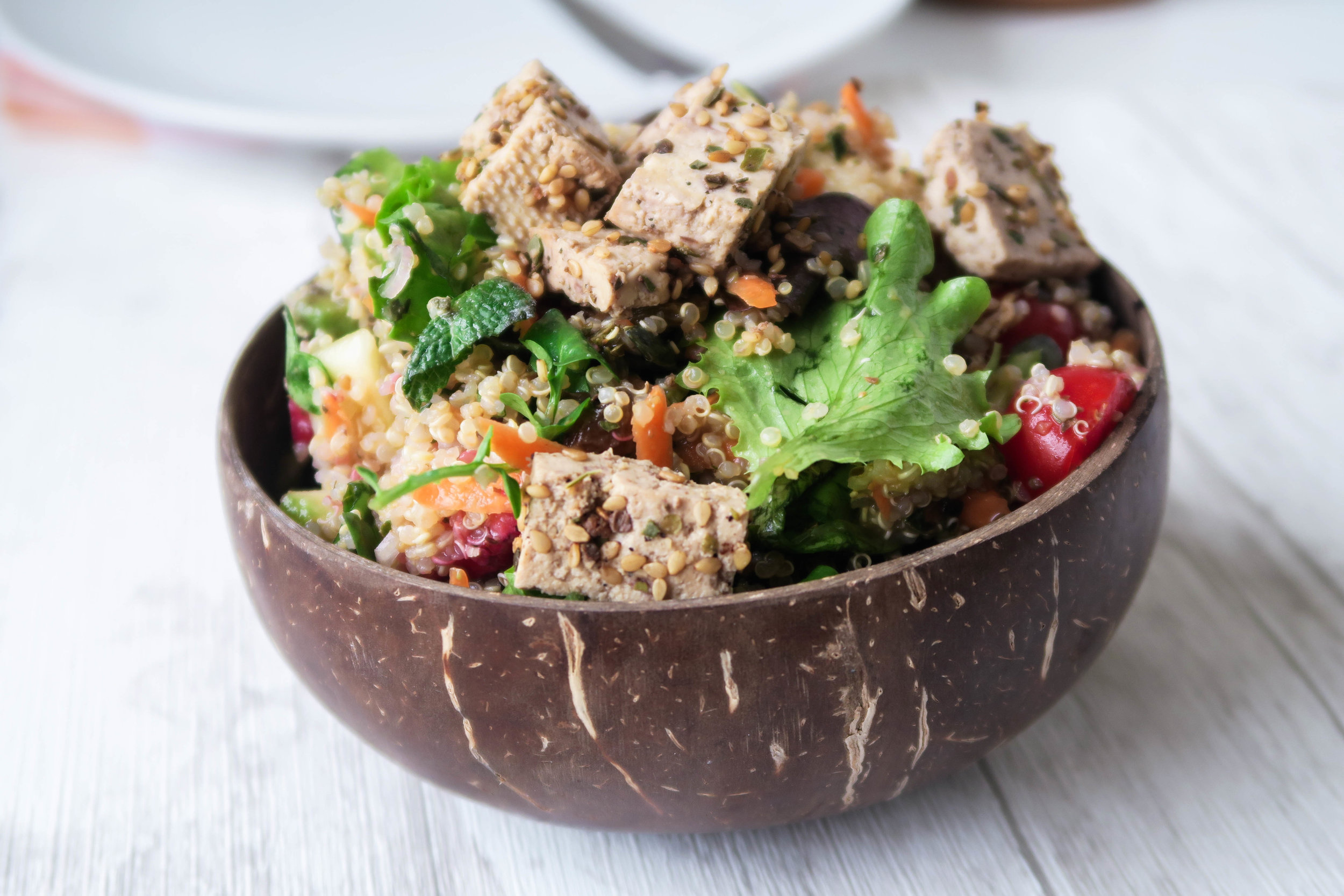 Quinoa Salad - Recipe from my  ebook