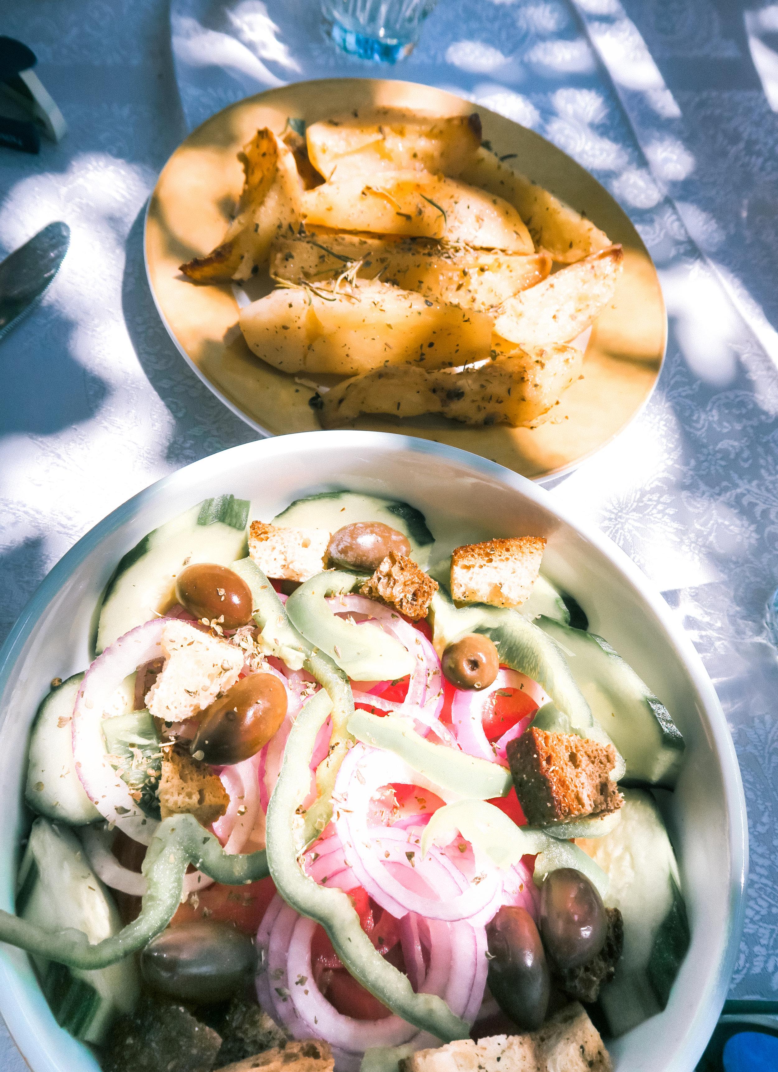 greek salad vegan - amelietahiti.com