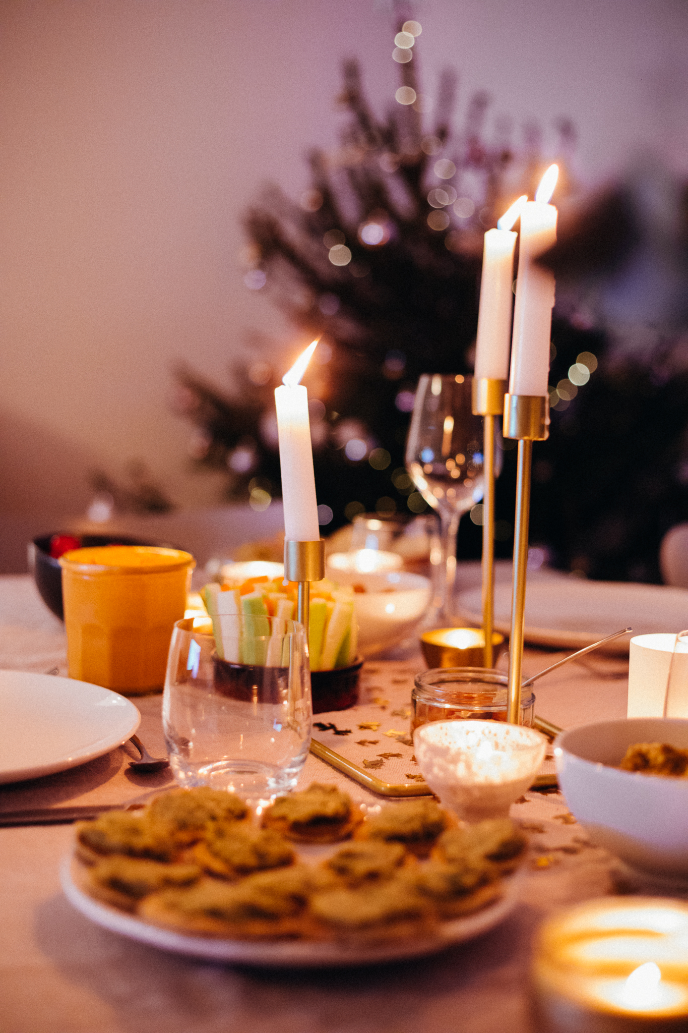 Vegan Christmas Dinner Food - www.amelietahiti.com