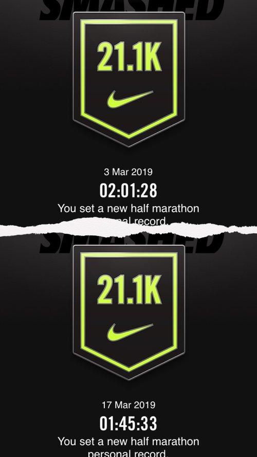 venta caliente online 100% de garantía de satisfacción precios increibles I let An App (NikeRun+) train me for my Marathon : this is what ...