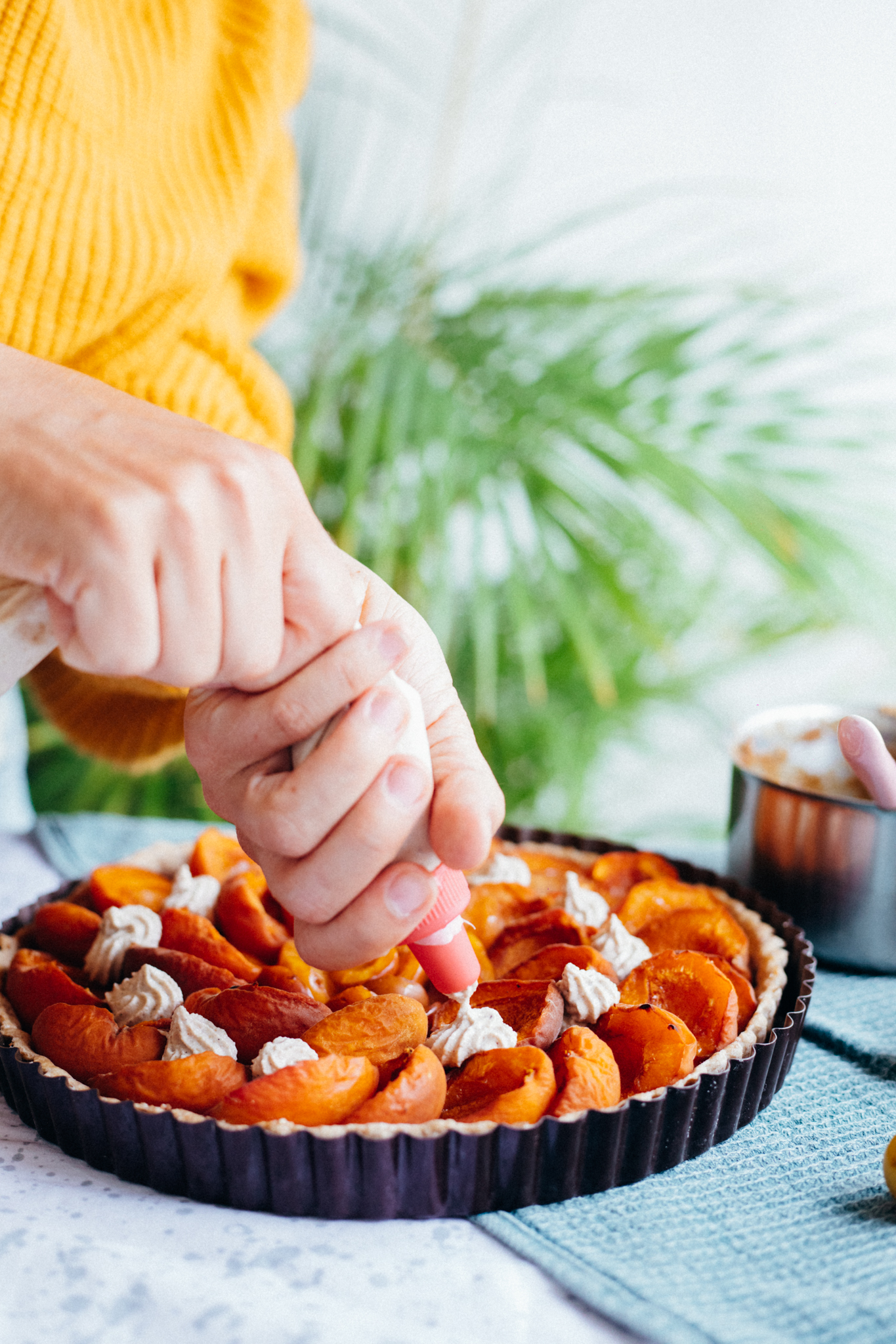 CARAMELISED PECAN & APRICOT PIE - Vegan & Healthy - Recipe at amelietahiti.com