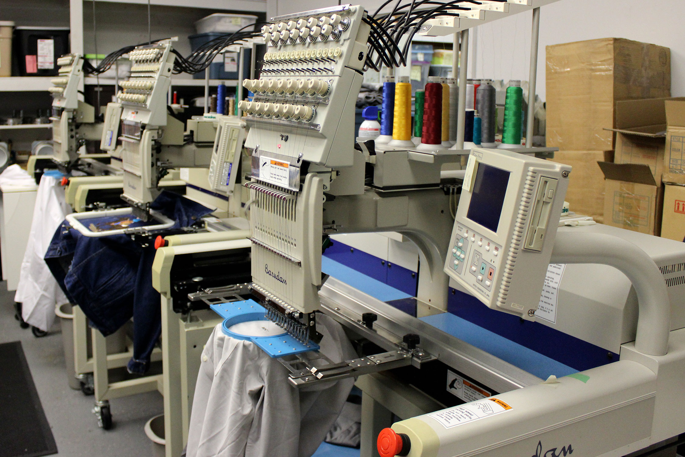 Single Head Embroidering machines