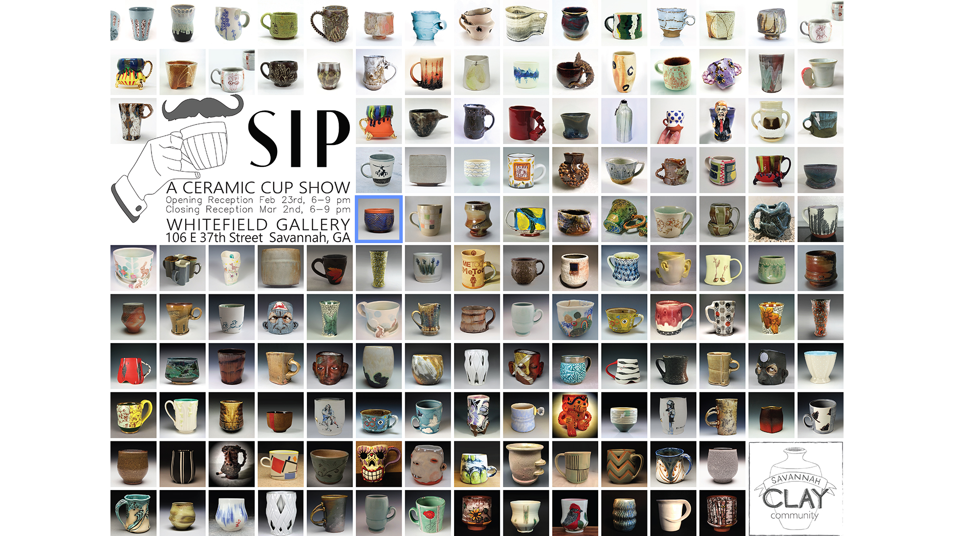 Sip: A Ceramic Cup Show 2018