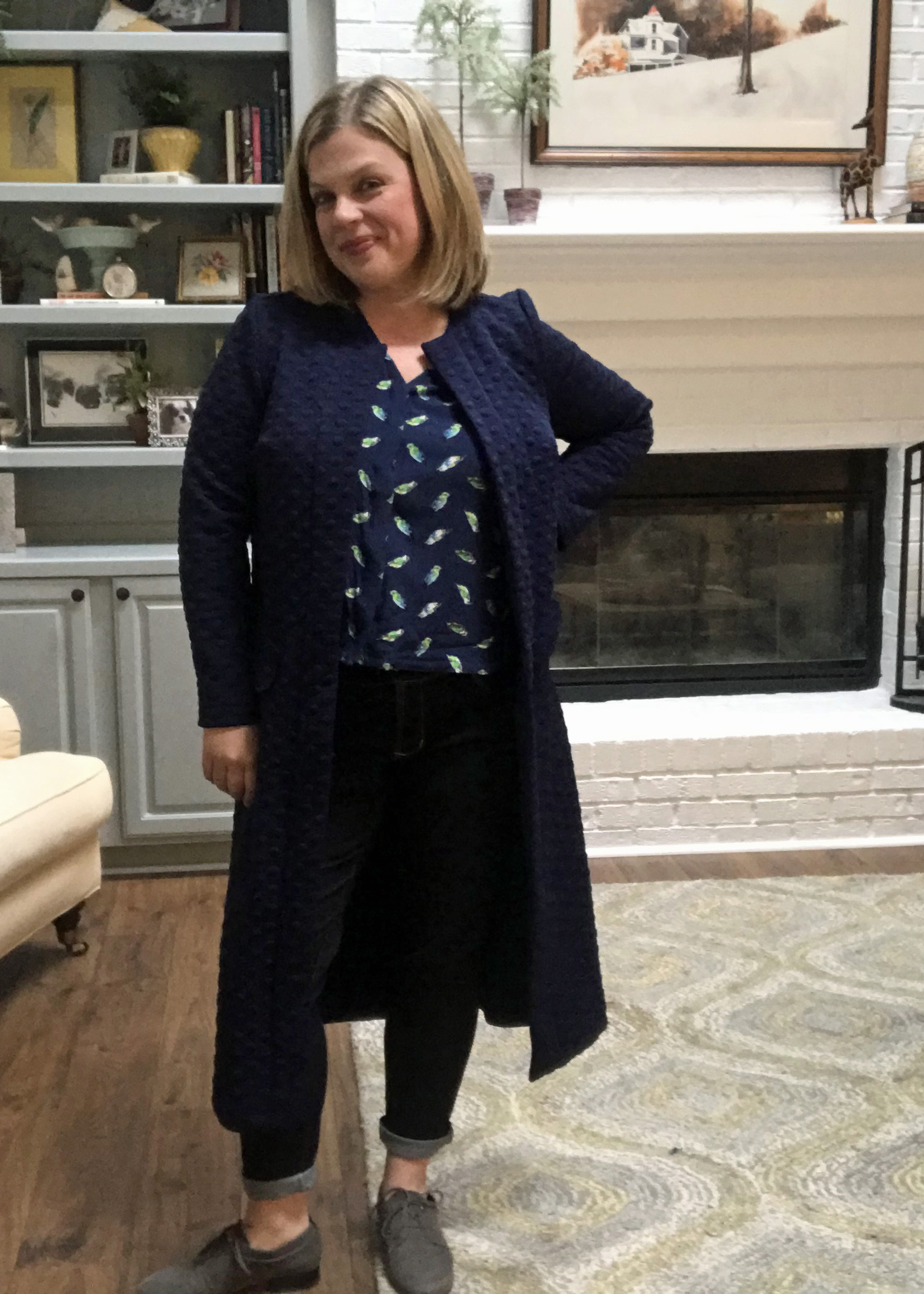 S8222 Jeans with SOI Dana Blouse and S8177 Cardigan
