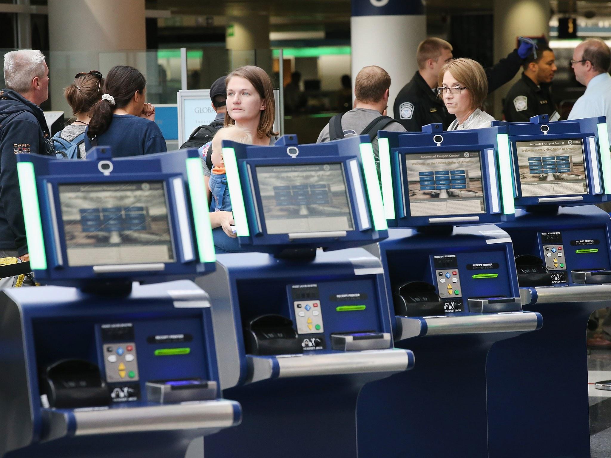 Copy of Airline Check In Kiosk